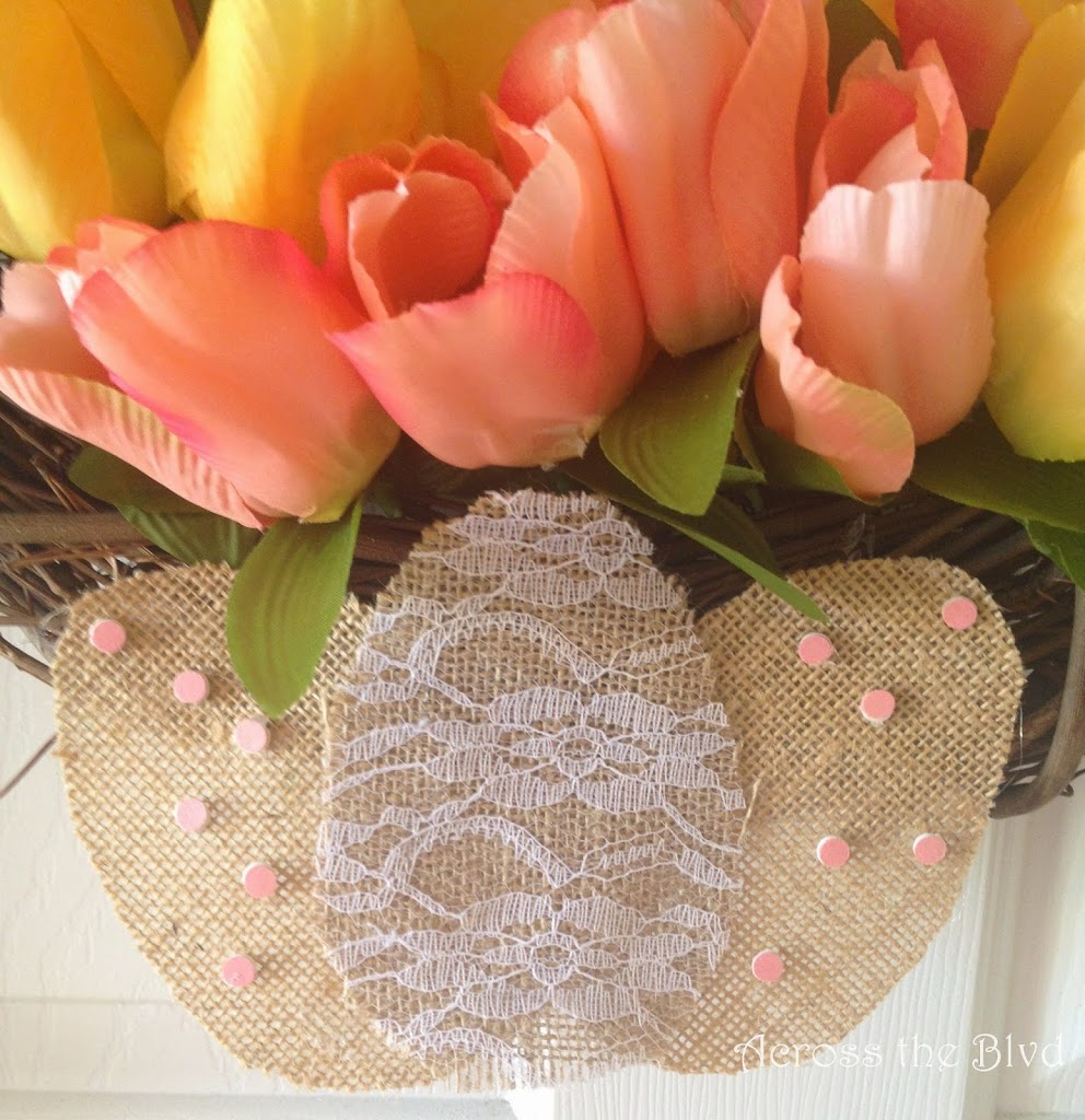 Grapevine Easter Wreath