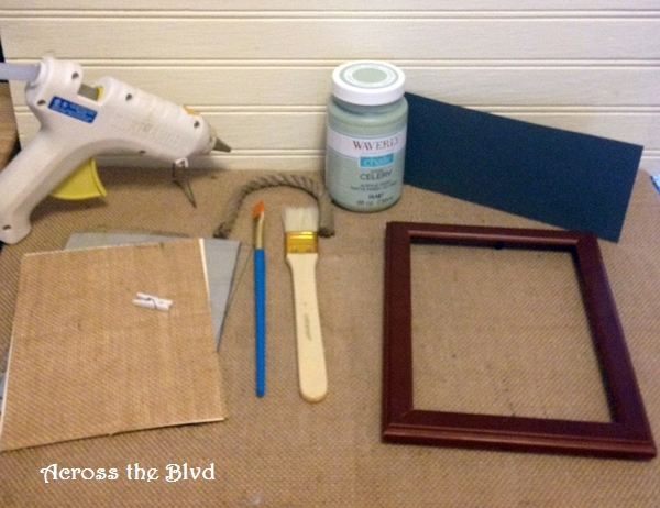 supplies for frames