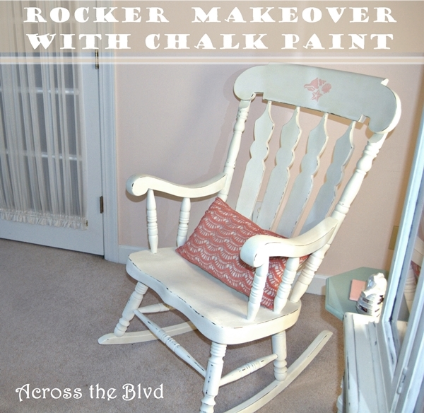 Rocking Chair Makeover with Chalk Paint