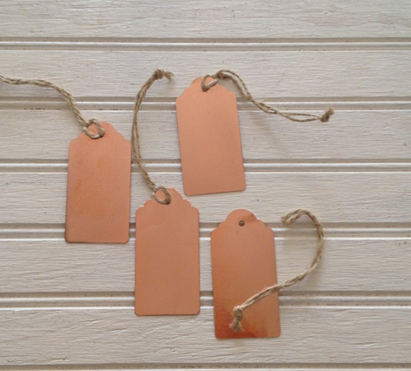 metallic tags