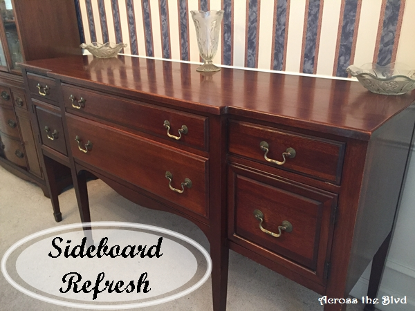 Sideboard Refresh Across the Blvd