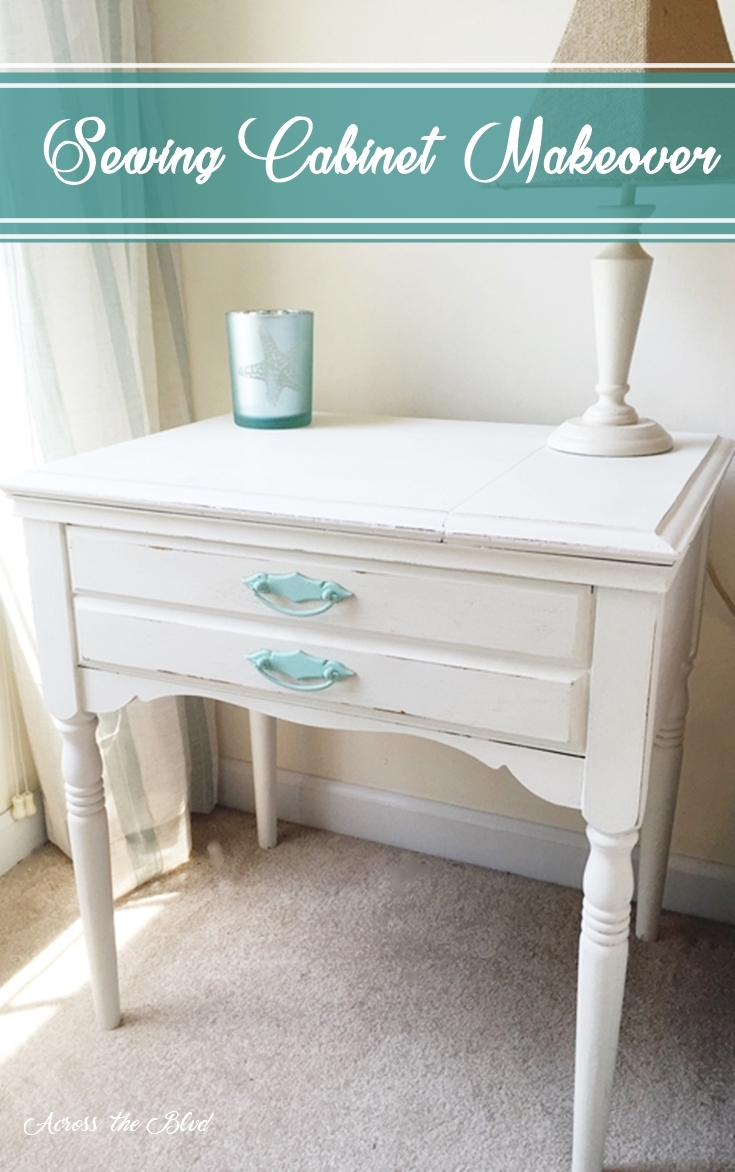 Sewing Cabinet Makeover Across the Blvd