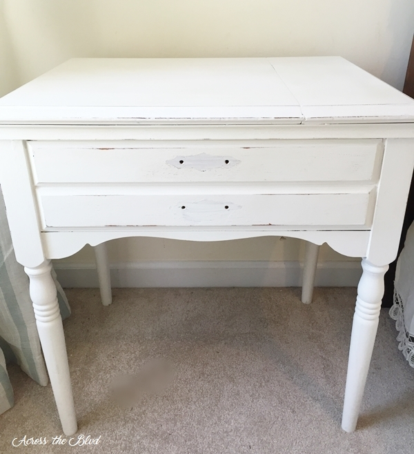 Table Painted White