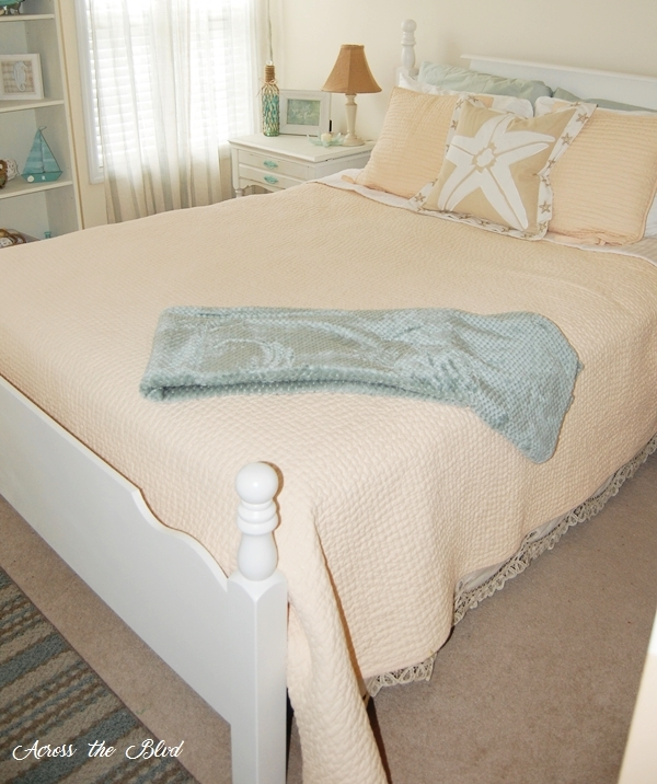 Coastal Guest Room Makeover