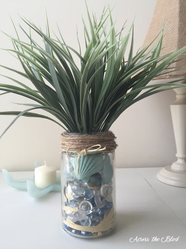 DIY Coastal Jar
