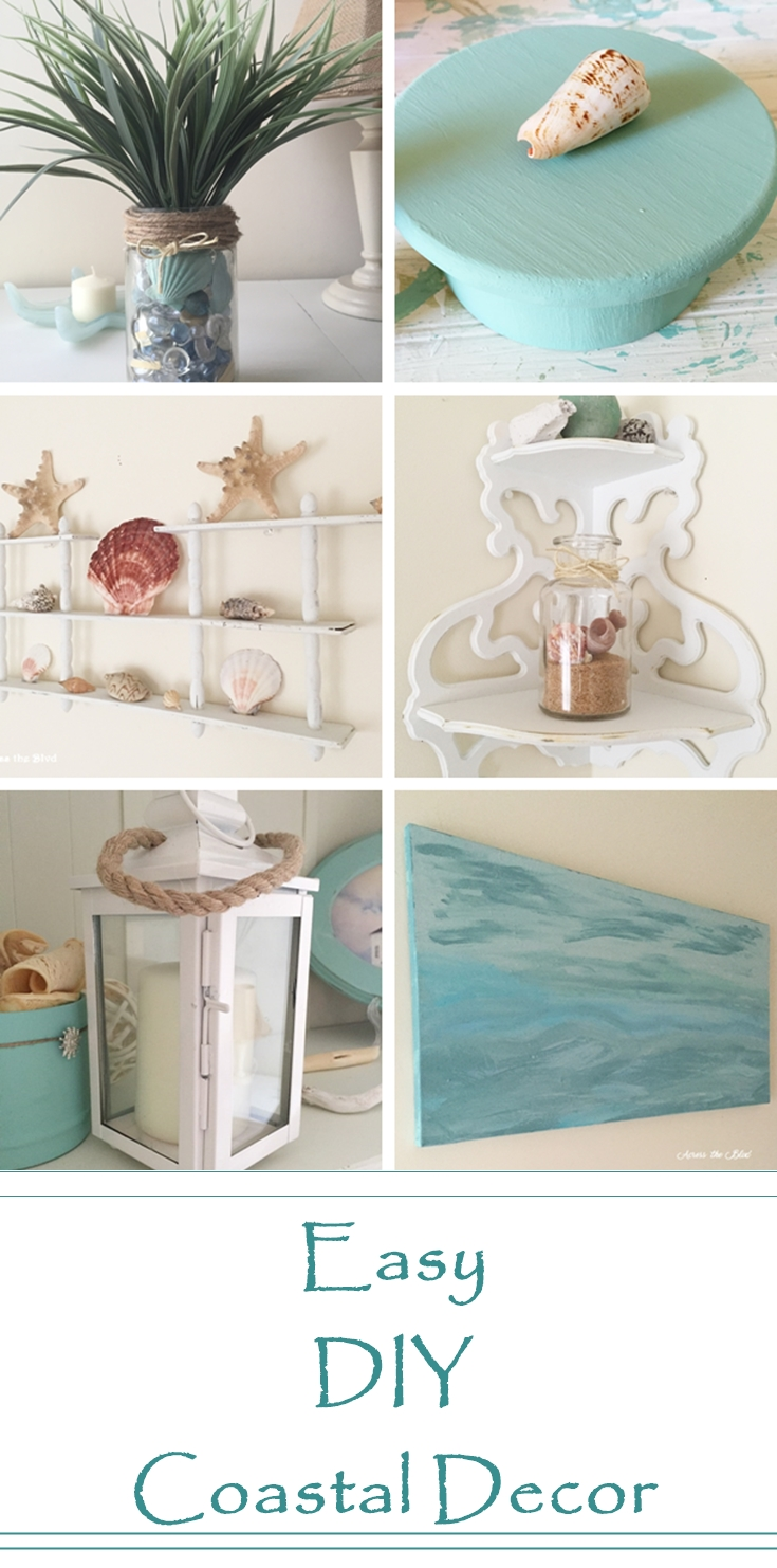 Easy DIY Coastal Decor Across the Blvd