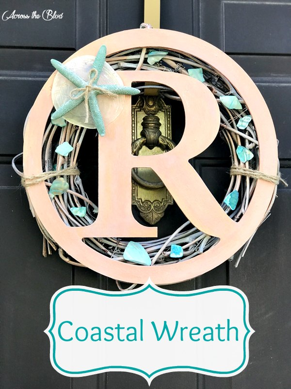 How to Make an Easy Coastal Wreath