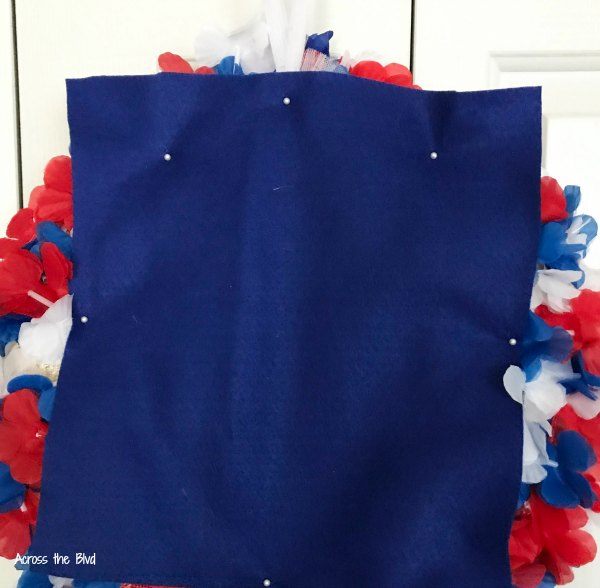 Patriotic Wreath construction