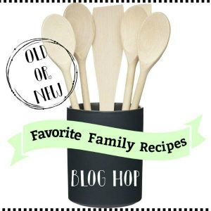 Favorite Family Recipe Blog Hop Graphic
