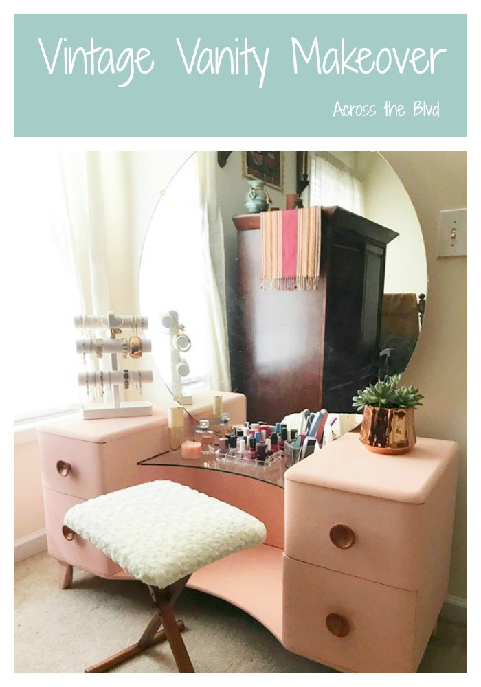 Vintage Vanity Makeover #furnitureflip #vintagevanitymakeover #furnituremakeover