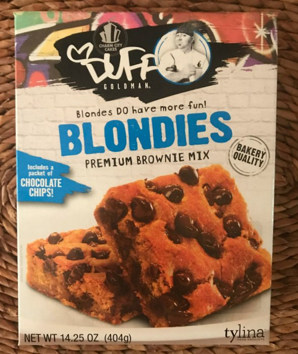 Box of Blonde Brownie Mix