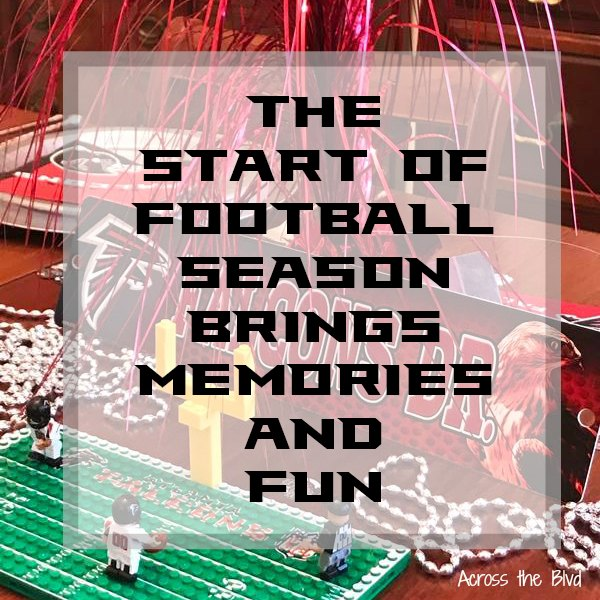 The Start of Football Season Brings Memories and Fun | football decor on table