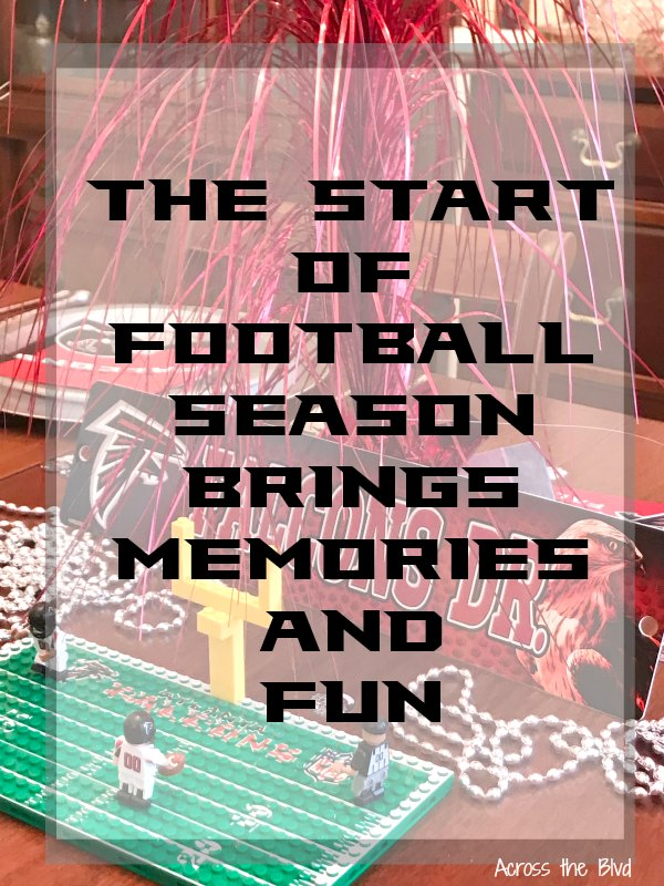The Start of Football Season Brings Memories and Fun Image of table decor