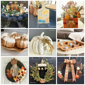 Fall Crafts Collage