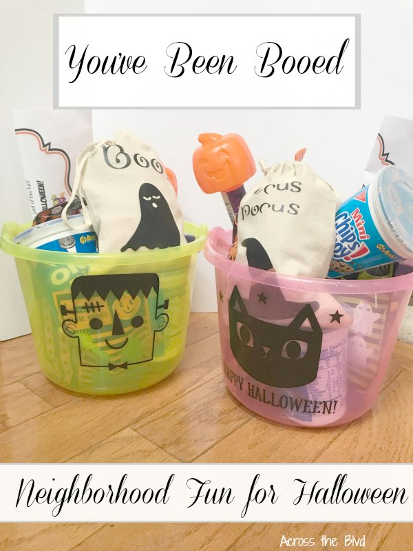 You've Been Booed | Halloween Treat Buckets