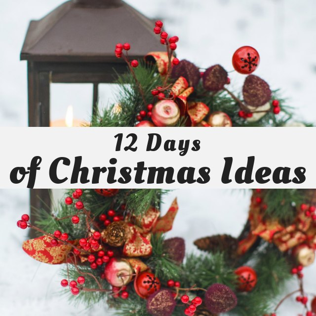 12 Days of Christmas Ideas Graphic