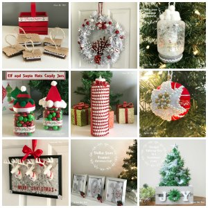Christmas Crafts Collage