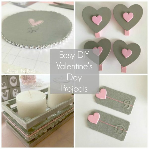 Valentine's Day Table DIY Table Decor Crafts