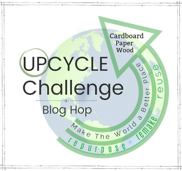 upcycle challenge blog hop graphic