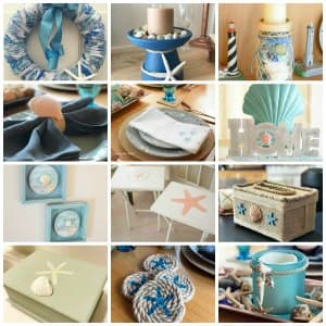coastal craft projects collage