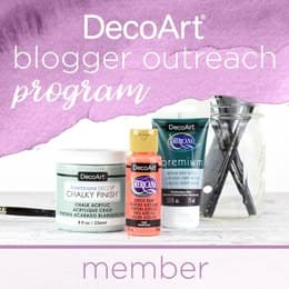 DecoArt Blogger Outreach Program Badge