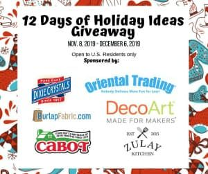 12 Days of Holiday Ideas Sponsors