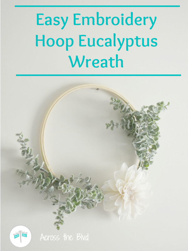 eucalyptus hoop wreath