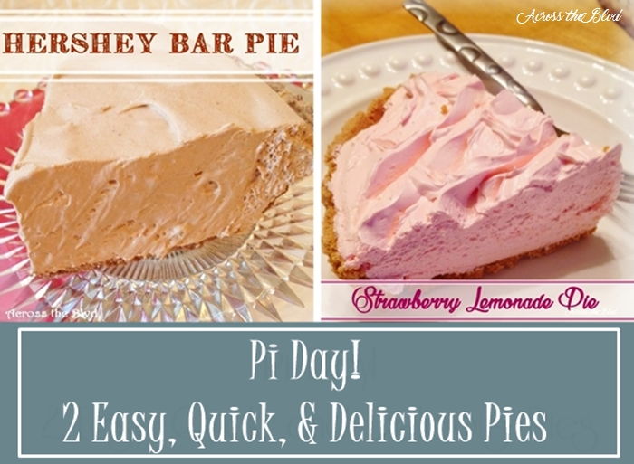 Pi Day! 2 Quick & Delicious Pies