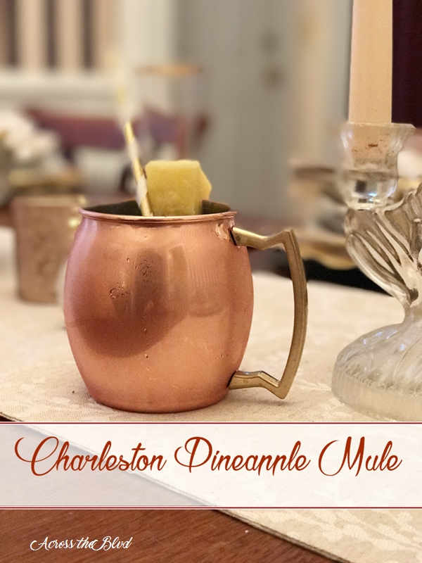 Charleston Pineapple Mule