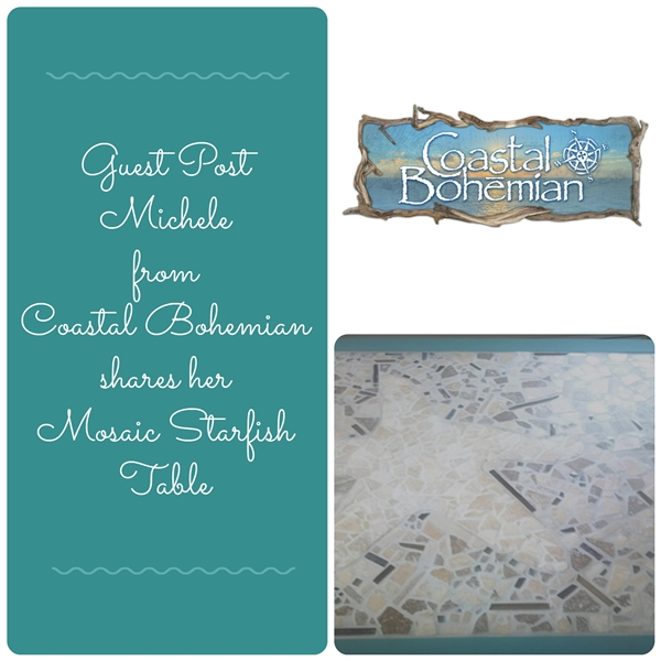 Guest Post Mosaic Starfish Table