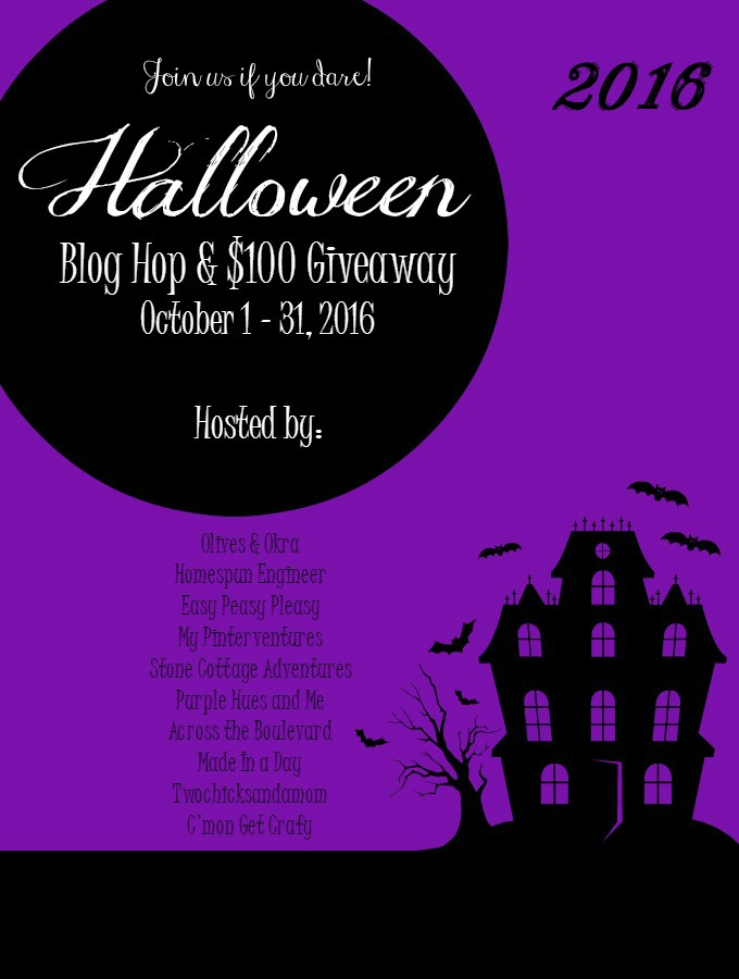 Halloween Blog Hop and $100 Giveaway