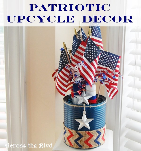 Patriotic Upcycled Decor