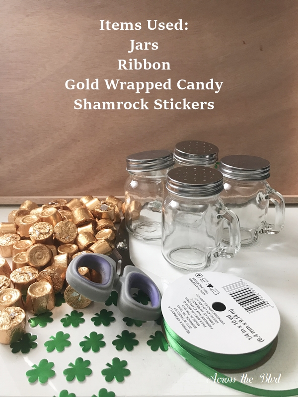 Candy Favor Mini Steins for St. Patrick's Day supplies