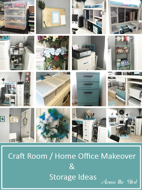 Organizing My Craft Room / Home Office