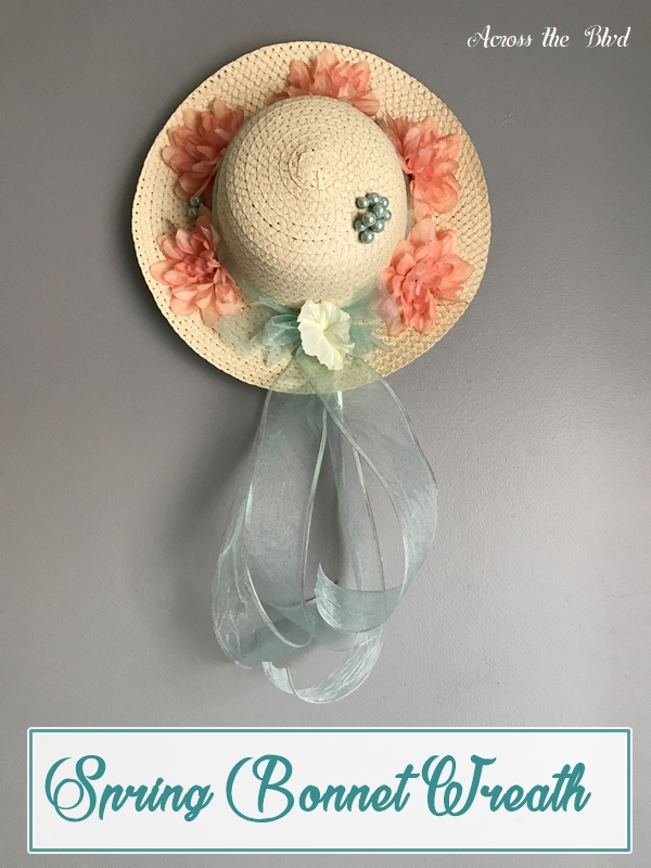 Spring Bonnet Wreath