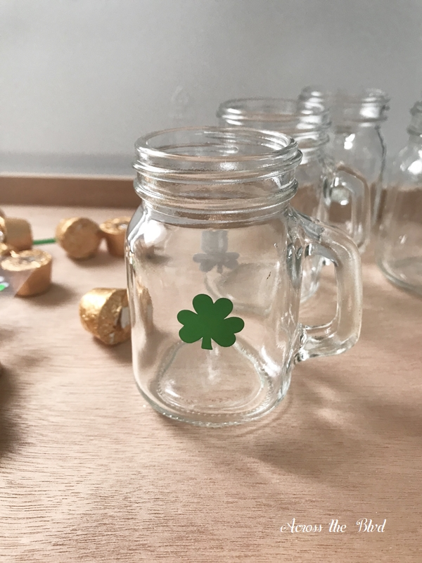 Candy Favor Mini Steins for St. Patrick's Day