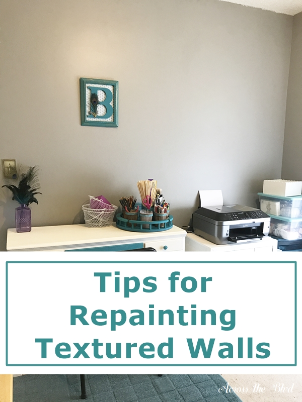 Tips for Repainting Textured Walls
